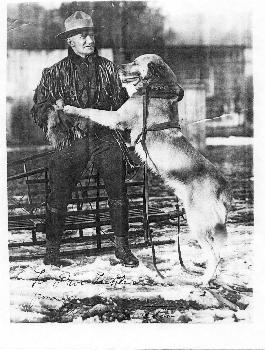 Arthur Walden with Chinook